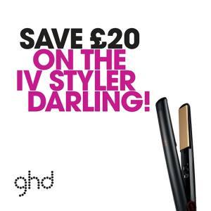 ghd IV styler offer