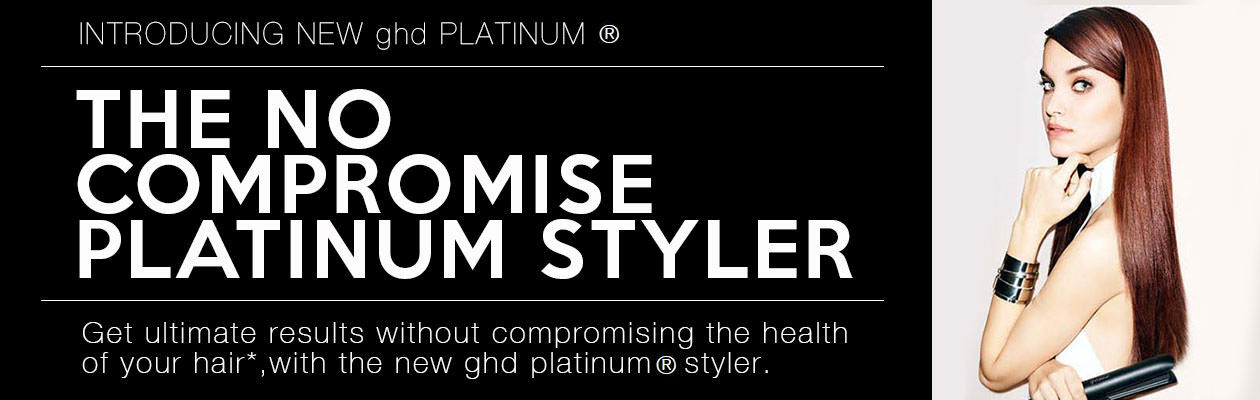 Introducing the new ghd Platinum® Styler