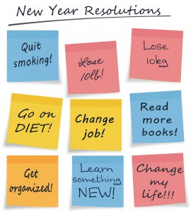 New Year Resolutions, hair salons in milton keynes