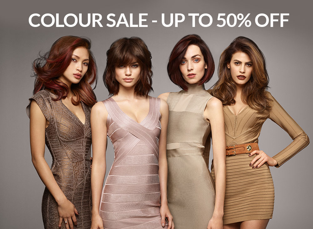 COLOUR SALE - UP TO 50% OFF
