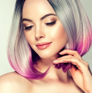 pastel hair colour trends, metallic hair colour experts, milton keynes and towcester
