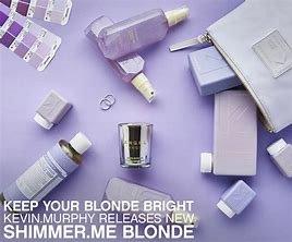 shimmer me blonde, kevin murphy, blonde envy, hair salons, milton keynes