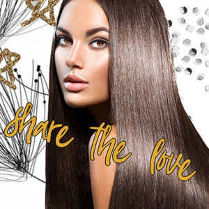 share the love offer at Blonde Envy Hair Salons in Mitlon Keynes & Towcester