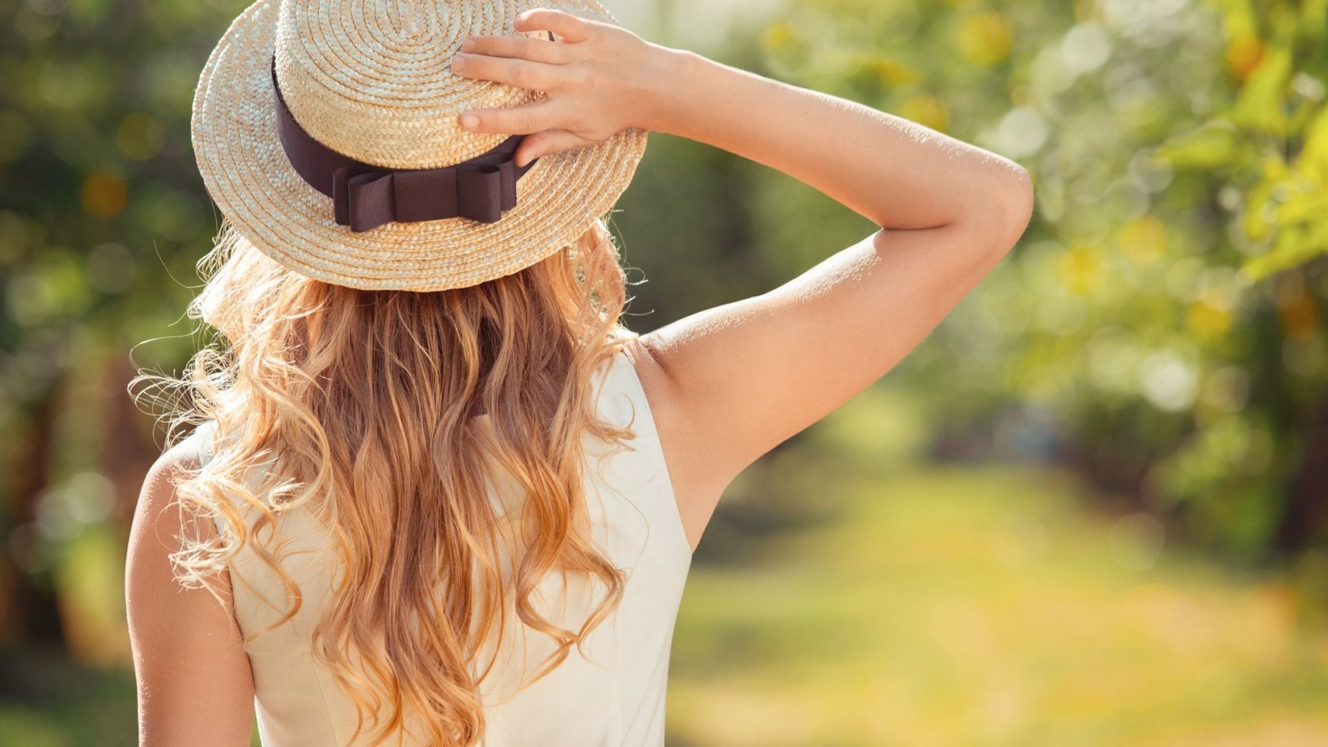 Summer Hair Banner