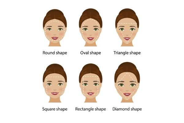 Female Face Shapes Infographic, Blonde Envy by Zigzag Hair Studios in Milton Keynes and Towcester