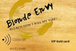 VIP Card ZIGZAG, Blonde Envy by ZIGZAG Hair Studios in Milton Keynes & Towcester
