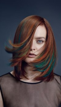 Creative hair colours, ZIGZAG Hair Studios